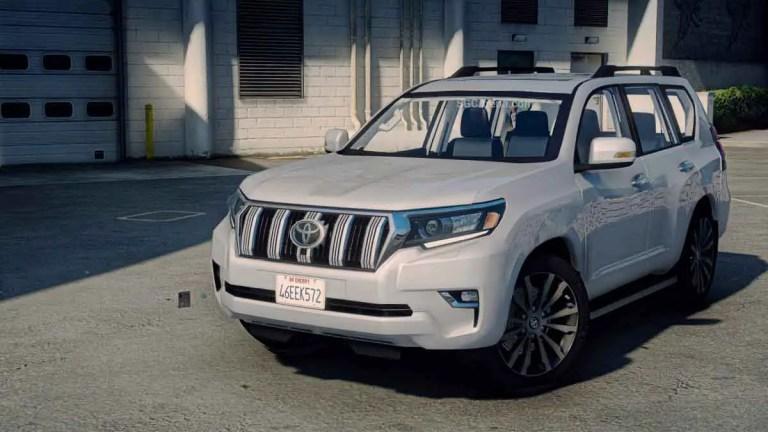 Toyota Land Cruiser Prado 2021 Car Mod BUSSID