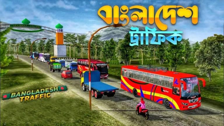 BUSSID V3.6.1 Bangladesh Traffic Obb Mod