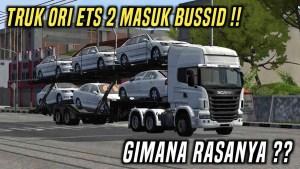 Download Scania Car Transporter Truck Mod BUSSID V3.6, Scania Car Transporter, BUSSID Truck Mod, BUSSID Vehicle Mod