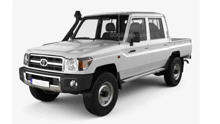 Toyota Land Cruiser J79 Double Cab Pickup Mod BUSSID
