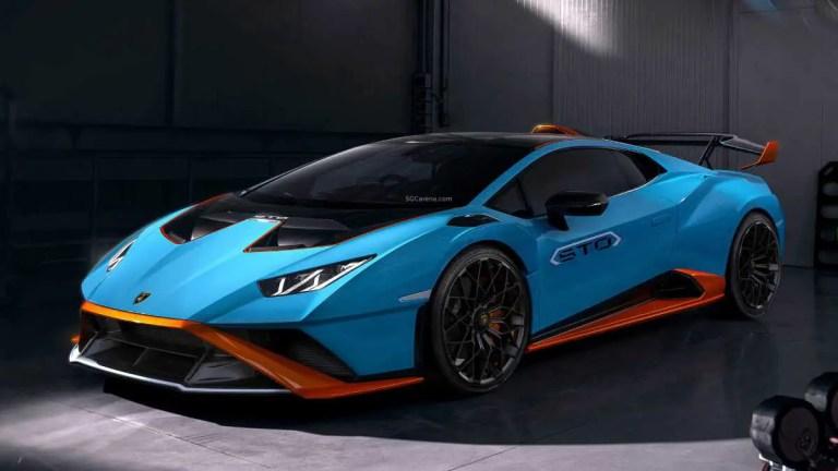 2021 Lamborghini Huracan STO Car Mod BUSSID