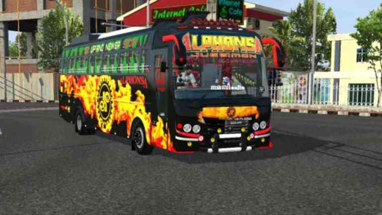 ZED One Indian Bus Mod BUSSID
