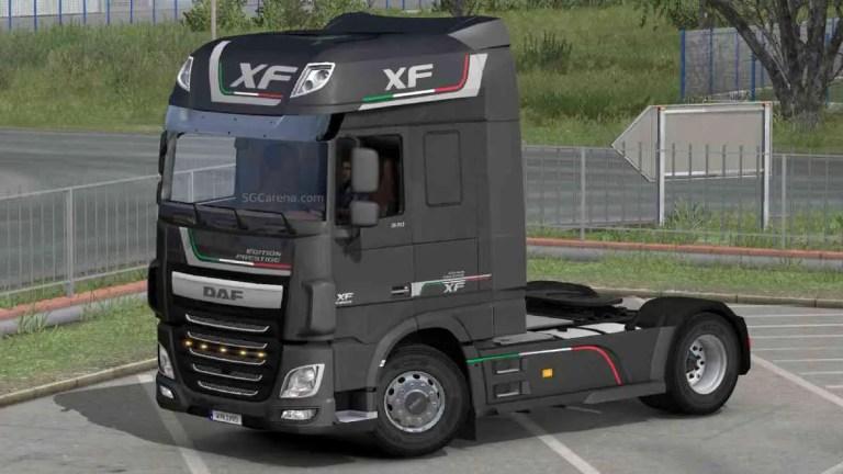 DAF XF106 Euro 6 Truck Mod BUSSID