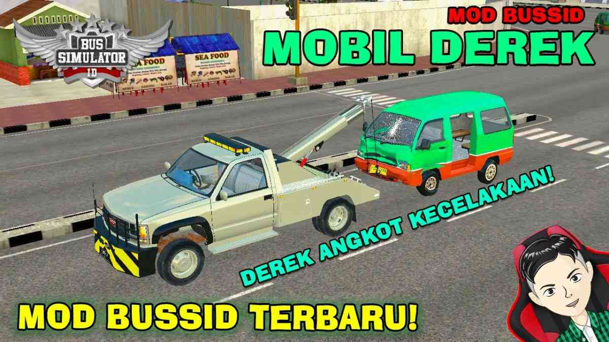 Download Tow Car Mod for Bus Simulator Indonesia, Tow Car, BUSSID Truck Mod, BUSSID Vehicle Mod, MAH Channel