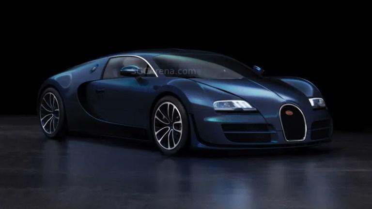 Bugatti Veyron Super Sport Mod BUSSID