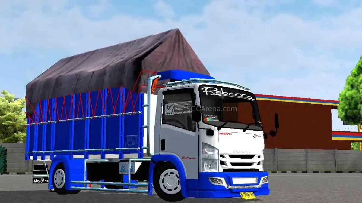 Download NMR71 Jayadipa Style Mod for BUSSID, NMR71 Jayadipa, BUSSID Truck Mod, BUSSID Vehicle Mod, NMR71 Mod, SH Dsgn