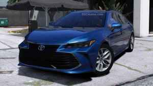 Download 2019 Toyota Avalon Car Mod BUSSID, 2019 Toyota Avalon, BUSSID Car Mod, BUSSID Vehicle Mod, MAH Channel, Toyota