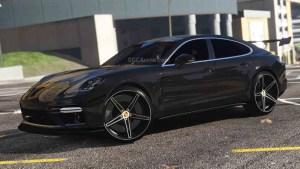 Download 2018 Porsche Panamera Turbo Mod BUSSID, 2018 Porsche Panamera Turbo, BUSSID Car Mod, BUSSID Vehicle Mod, MAH Channel, Porsche
