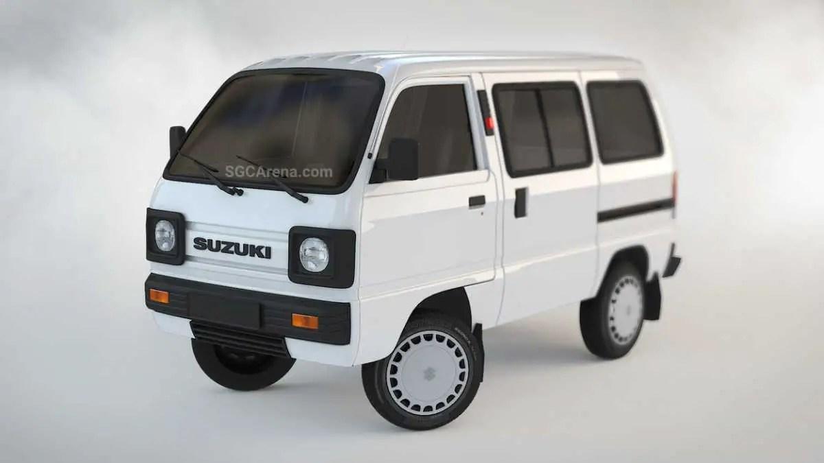 Download Suzuki Carry Minivan Mod BUSSID, Suzuki Carry, BUSSID Car Mod, BUSSID Vehicle Mod, MAH Channel, Suzuki