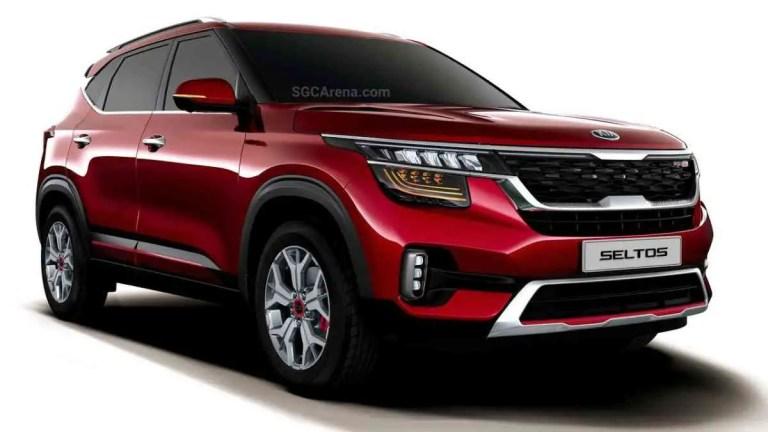 Kia Seltos 2020 Car Mod BUSSID
