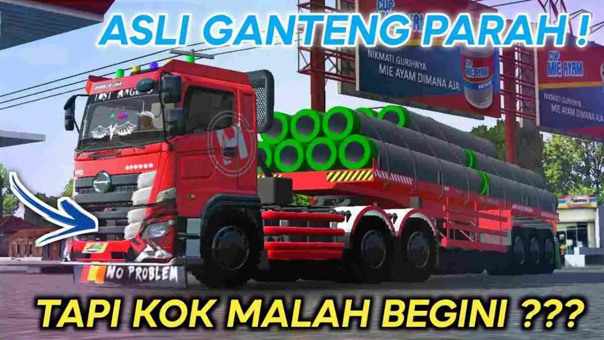 Download Hino 500 Galen Truck Mod BUSSID, Hino 500 Galen, BUSSID Truck Mod, BUSSID Vehicle Mod, Hino