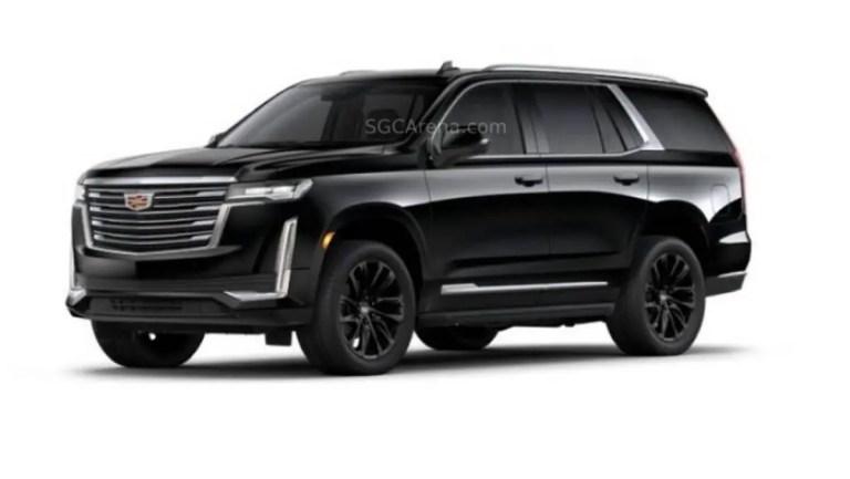 Cadillac Escalade ESV Luxury Mod BUSSID