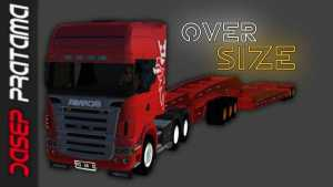 Download Scania R620 Oversize Trailer Mod BUSSID, Scania R620, BUSSID Truck Mod, BUSSID Vehicle Mod, Dasep Pratama, Scania