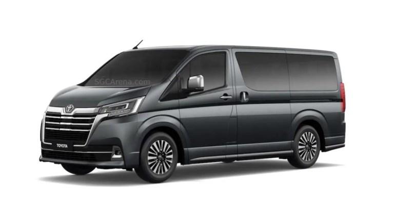 Toyota Granvia 2020 Mod BUSSID
