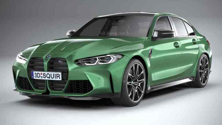 BMW M3 Competition G80 2021 Mod BUSSID