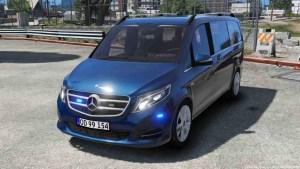 Download 2016 Mercedes V250 Mod BUSSID, 2016 Mercedes V250, BUSSID Car Mod, BUSSID Vehicle Mod, MAH Channel, Mercedes Benz