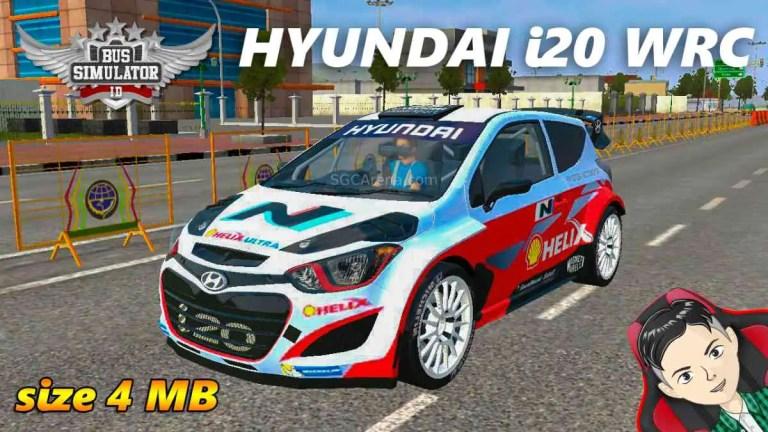 Hyundai i20 WRC Mod BUSSID
