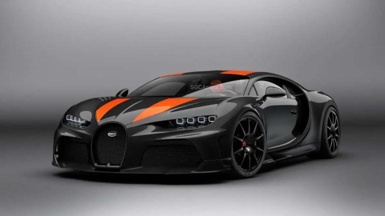 Bugatti Chiron Super Sport 300 2020 Mod BUSSID