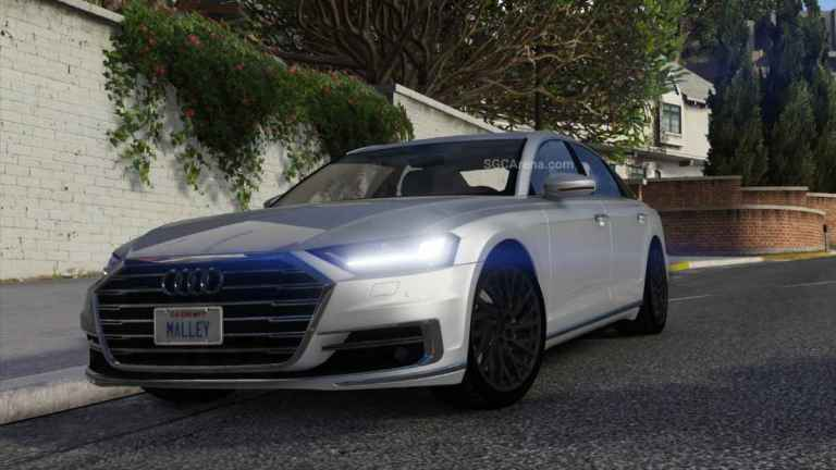 2018 Audi A8 Mod BUSSID