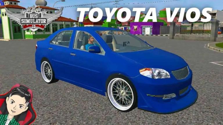 Toyota Vios Modified Mod BUSSID