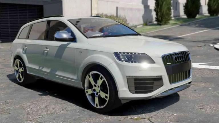 Audi Q7 2012 Mod BUSSID