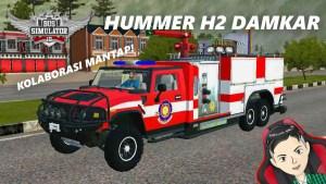 Download HUMMER H2 Firetruck Mod BUSSID, HUMMER H2, BUSSID Truck Mod, BUSSID Vehicle Mod, Hummer, MAH Channel