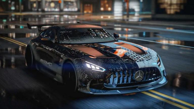 Mercedes Benz AMG GT Black Series Mod BUSSID