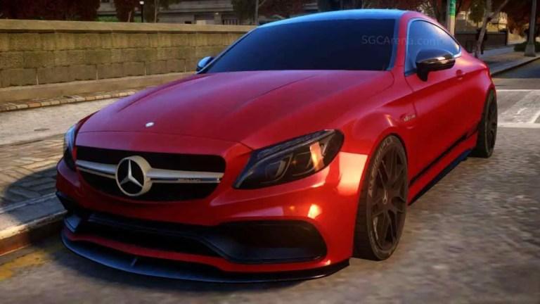 Mercedes-Benz C63 S AMG 2020 Mod BUSSID