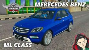 Download Mercedes-Benz ML Class 2013 Mod BUSSID, Mercedes-Benz ML Class, BUSSID Car Mod, BUSSID Vehicle Mod, MAH Channel, Mercedes Benz