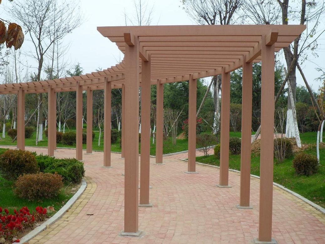 Composite Wood Pergola Kits Sgc Synthetic Grass