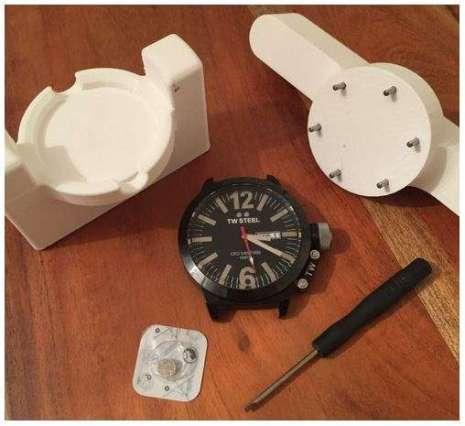 3D Printed Watch Repair Jig