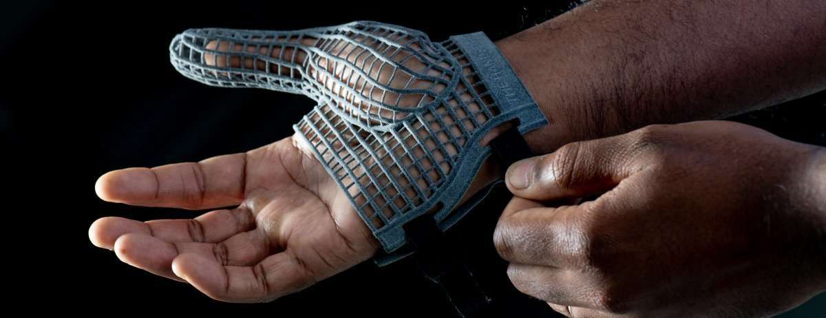 Jaguar Land Rover Printed Glove - You're  in Safe Hands - Jaguar Land Rover's New 3D Printed  Glove