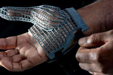 3D Printed Personal Protective Glove