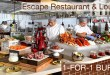 1 FOR 1 Buffet promotion at Escape Restaurant & Lounge