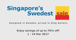 IKEA Singapore Swedest Sale 2017