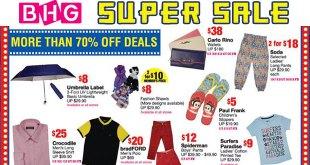 BHG Super Sale