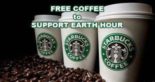 FREE coffee at Starbucks