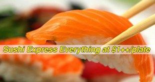 Sushi Express 1 dollar deals
