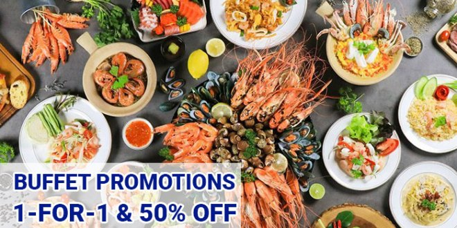 Best 1-for-1 Buffet Promotions | Singapore - Sep 2019 | SGDTips