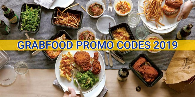 GrabFood promo codes for Singapore