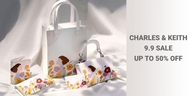 9.9 Sale at Charles & Keith