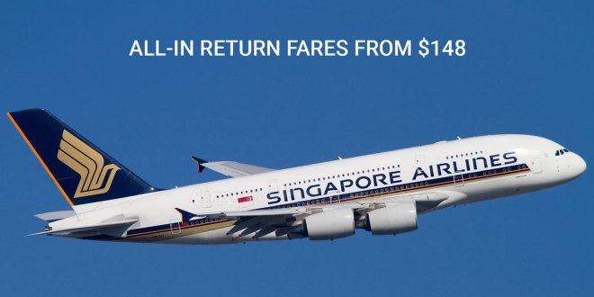 The Great Singapore Airlines Getaway 2019