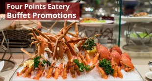 Four Points Eatery 1-for-1 Buffet Promotions