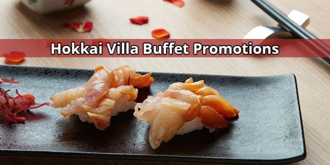 Hokkai Villa Buffet Promotions