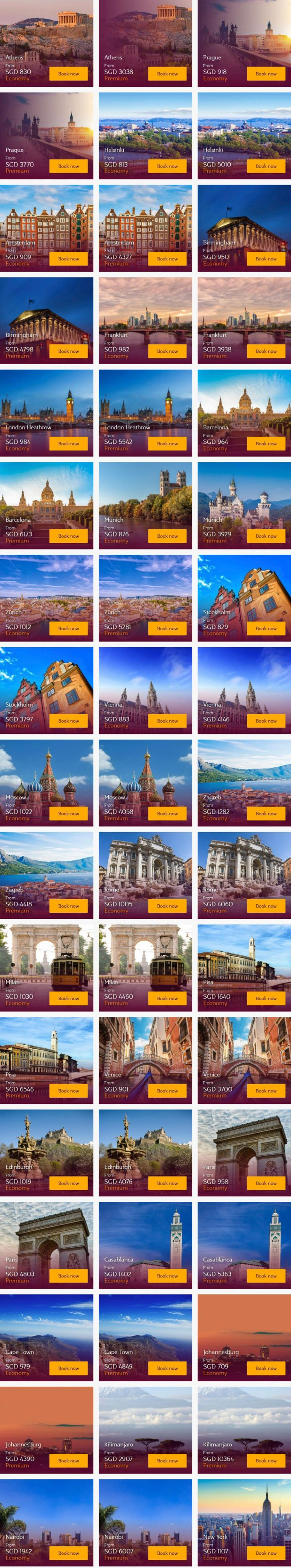 Qatar Airways Special: Fares from $830