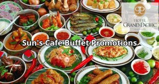 Sun's Cafe @ Hotel Grand Pacific Singapore Buffet Promotions