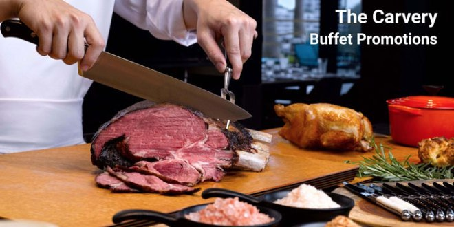 The Carvery Buffet Promotions for Dec 2019