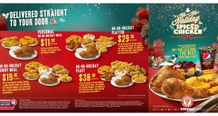 Popeyes Holiday 2019 coupons