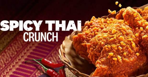 New KFC Spicy Thai Crunch