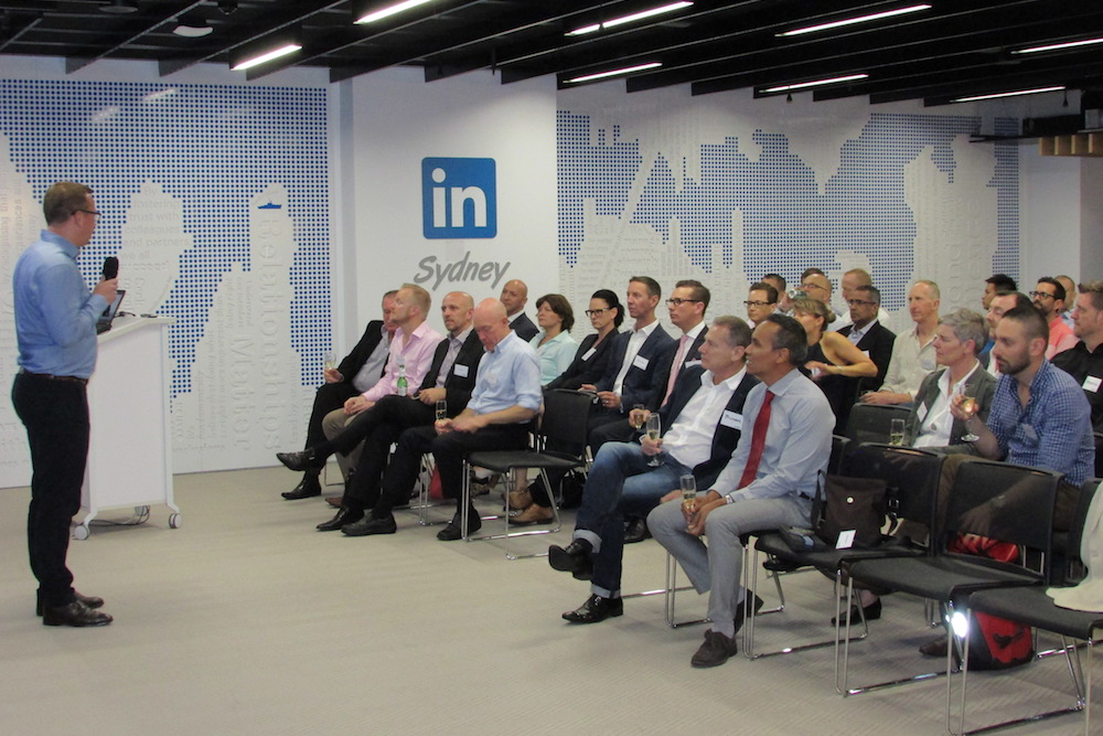 An evening with the team at Linkedin Sydney at their Martin Place offices.
